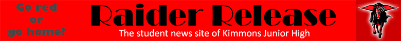 The student news site of Kimmons Junior High School