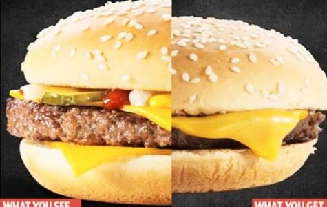 False Advertisement in Fast Food