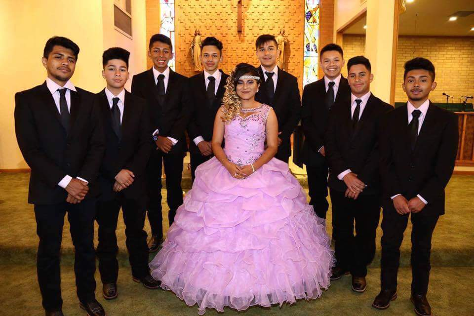 Iris Ponce and her Court