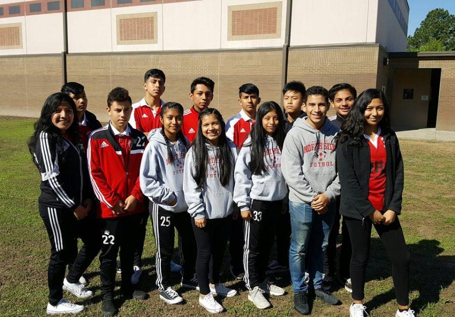 Freshmen+Turn+to+Soccer+for+Fun%2C+Relieve+Stress