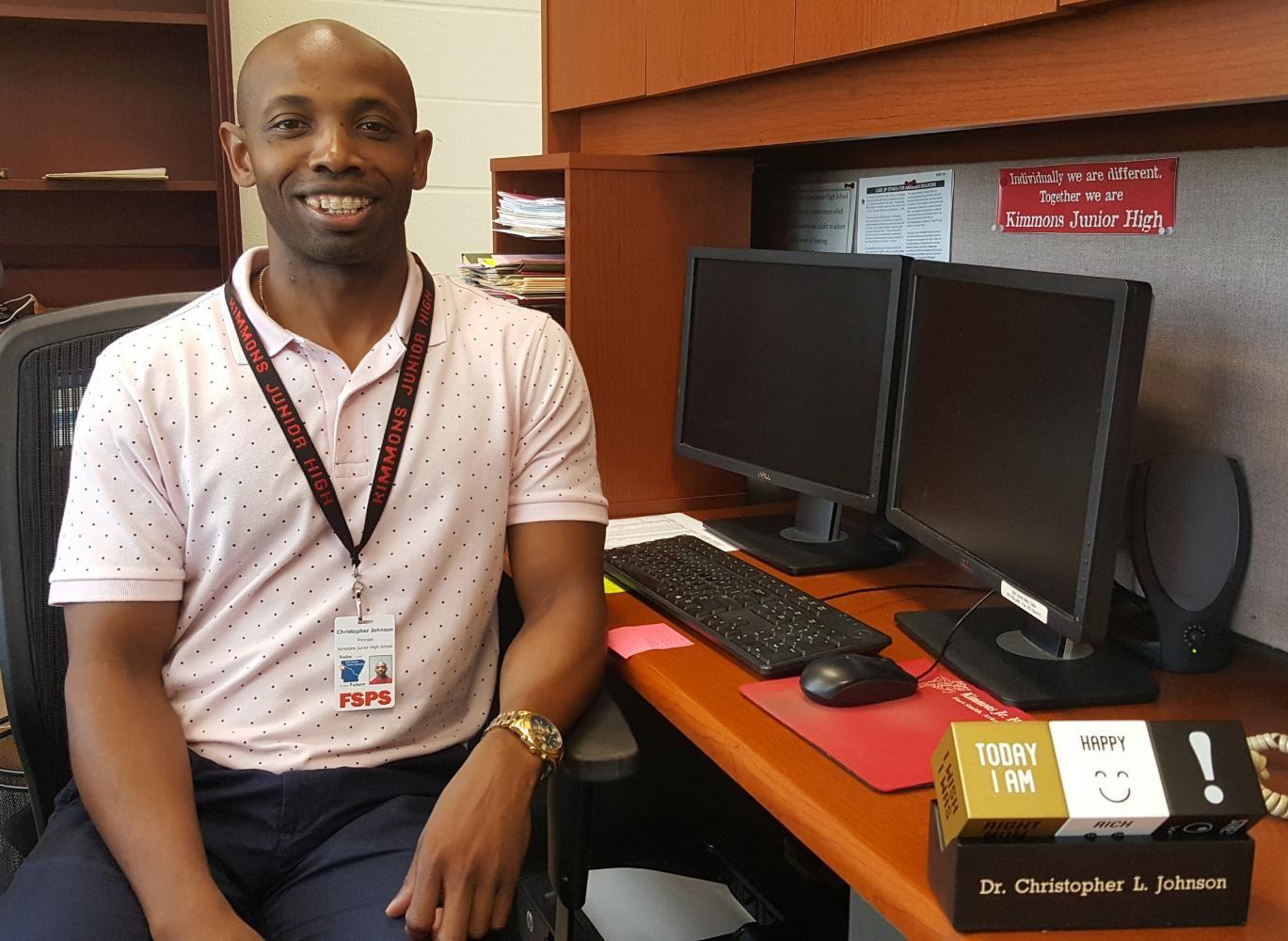 Dr.+Johnson+Becomes+New+Principal+at+KJH
