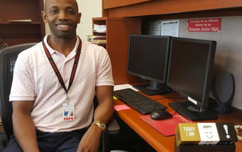 Dr. Johnson Becomes New Principal at KJH