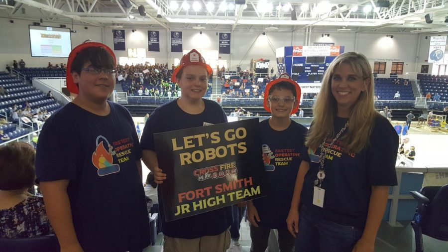 Raiders Join FSPS Robotics Team, Thrive at Competition