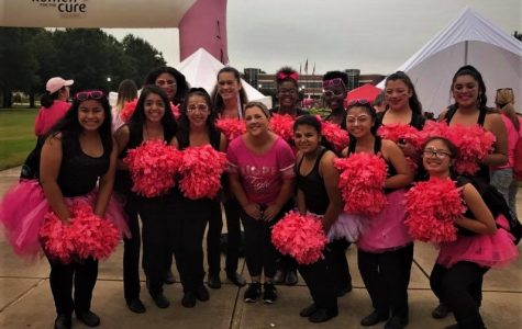 Raiderettes Raise Money for Cancer Awareness