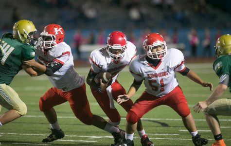 Football Players Discuss Chief Rivals, Coach Support
