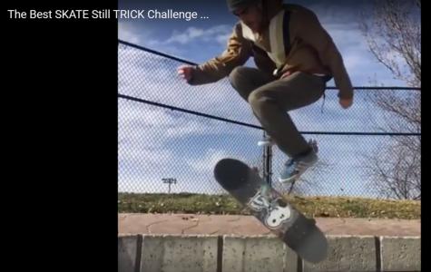 Still Trick Instagram Skateboarding Challenge