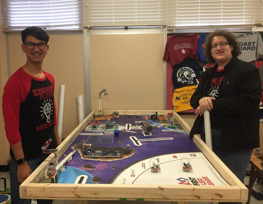 New LEGO Robotics Teams Prep for Qualifying Match