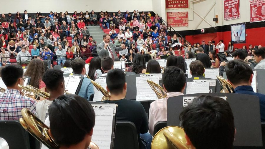 Winter Fine Arts Concert: an Inside Look