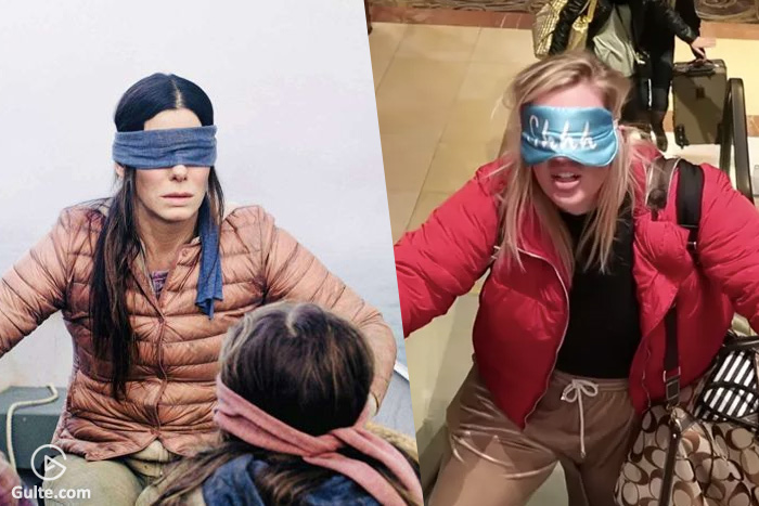 Bird Box Challenge Becomes Latest Craze