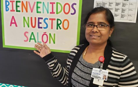 Mrs. Murali Mentors Migrants