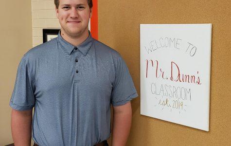 Mr. Dunn Upholds Math Family Tradition