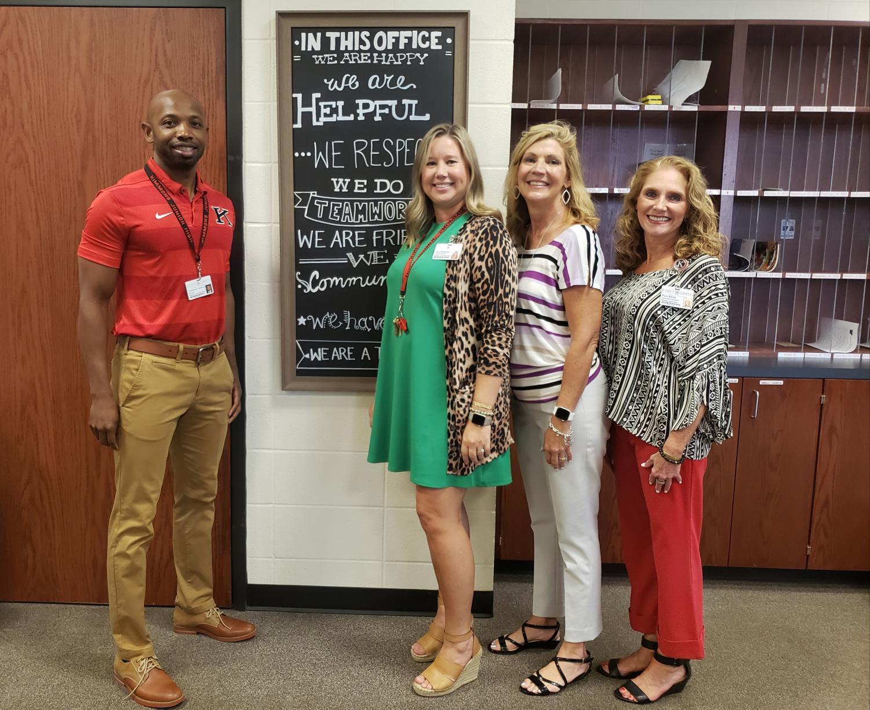 Dr. Johnson, Mrs. Wilbanks, Mrs. Chase, Ms. Ehnle