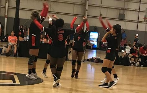 Lady Raiders Discuss Volleyball