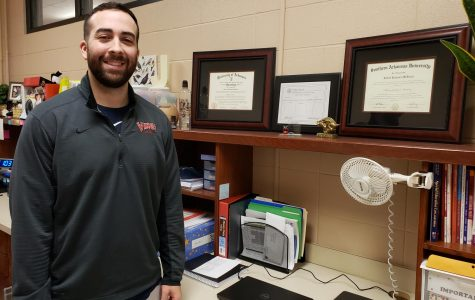 Mr. McBryde Joins New Subject Area