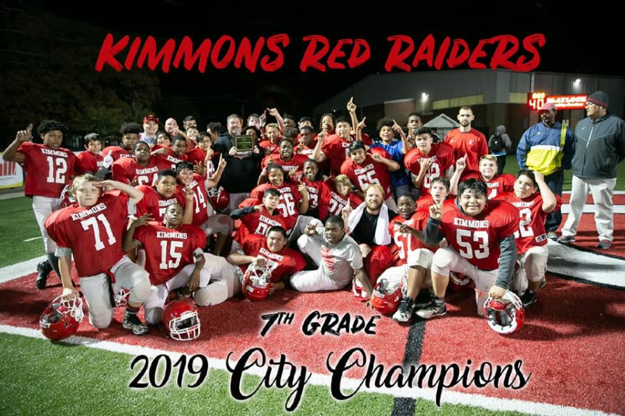 7th Grade Football Boys Take Fort Smith City Championship