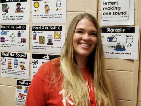 Mrs. Freeman Helps Struggling Readers