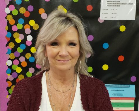 Mrs. Shelly Aims for Students to Embrace Math