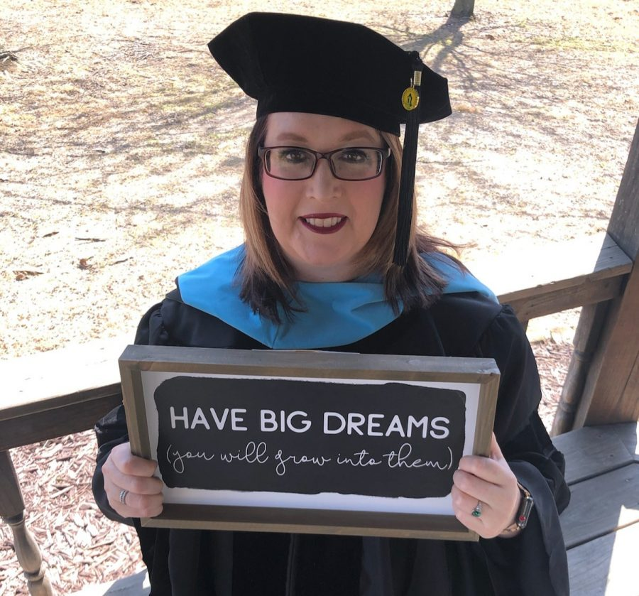 Ms. Florez Perseveres, Earns Doctorate